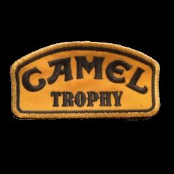 Ecusson à broder CAMEL TROPHY - Noir et or