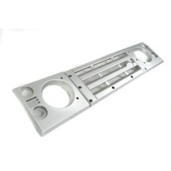 KBX Front Grille & Lamp Surround Upgrade Kit for Defender - Indus Silver Premium
