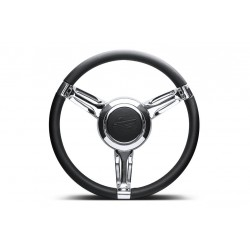 DEFENDER SINGLE 3 SPOKE BILLET STEERING WHEEL