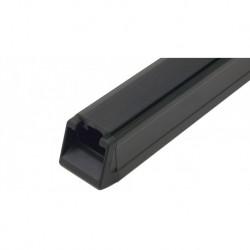 RHINO RACK black aluminium roof rack 1500mm with rubber
