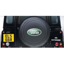 housse de roue noire land rover 750x16 - genuine