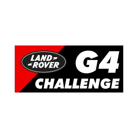 Autocollant G4 CHALLENGE 6 X 12 CM