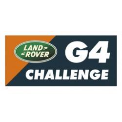 AUTOCOLLANT G4 CHALLENGE 6 X 12 CM ORANGE