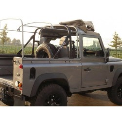 Roll cage for Defender 90