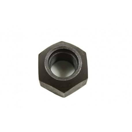Black nut for steel wheel
